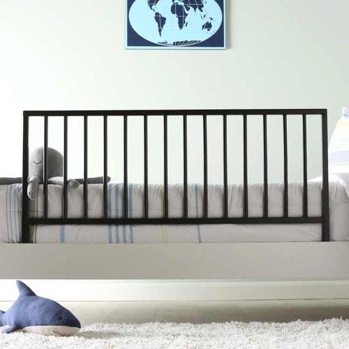 حاجز سرير للأطفال من آندي، خشب صلب، لون وينجي