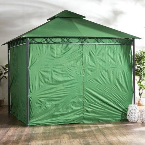 مظلة خارجية جازبينو من ديلوكس، لون أخضر