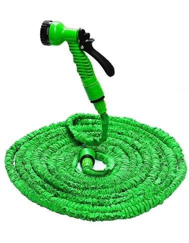 خرطوم مياه قابل للتمدد من ماجيك هاوس، 45 متر، لون أخضر