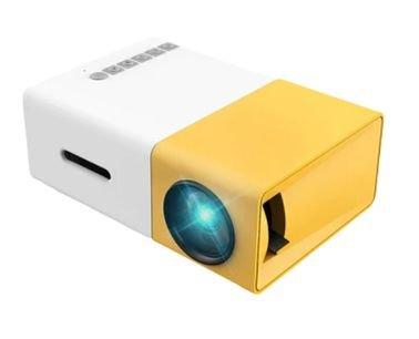 Meer Portable Projector, 400 Lumens, 1080p Resolution