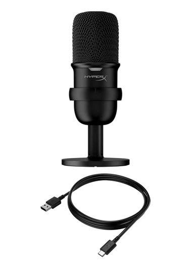 HyperX SoloCast Microphone, USB Connection, Black Color