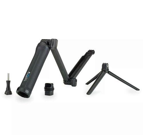 حامل كاميرا ثلاثي لكاميرات جوبرو، متعدد الاستخدامات، لون أسود