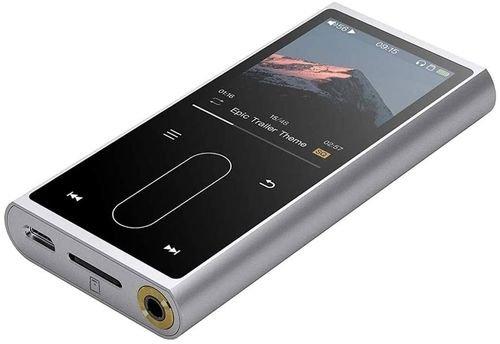مشغل MP3 من FiiO، شاشة 2 بوصة، لون فضي