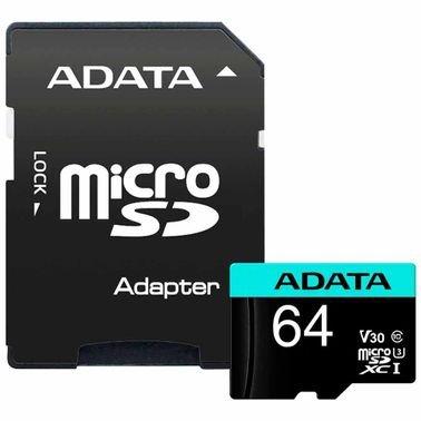 كرت ذاكرة ADATA بريمير برو، سعة 64GB، سرعة 100MB