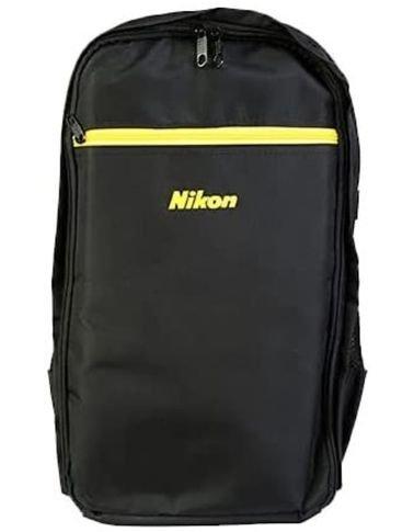 حقيبة كاميرا ظهر من نيكون، بوليستر، لون أسود أصفر