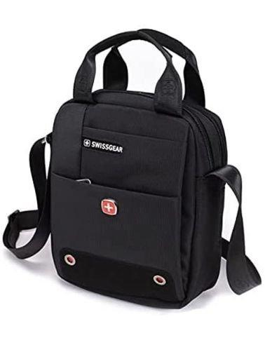 SwissGear 10.5 inch Tablet Handbag and Shoulder Bag, Black