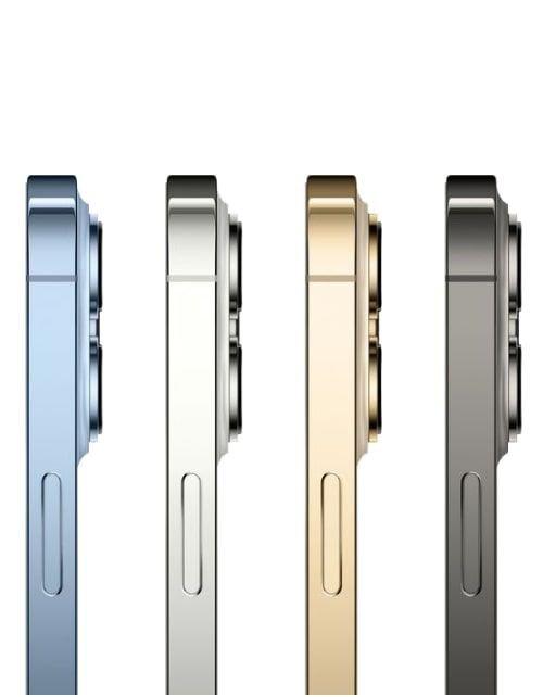 هاتف أبل آيفون 13 برو ماكس، الجيل الخامس، 128 جيجابايت، ذهبي