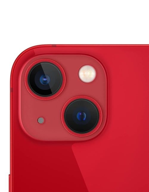 هاتف أبل آيفون 13، الجيل الخامس، 256 جيجابايت، أحمر
