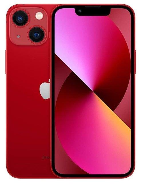 هاتف أبل آيفون 13 ميني، الجيل الخامس، 256 جيجابايت، أحمر