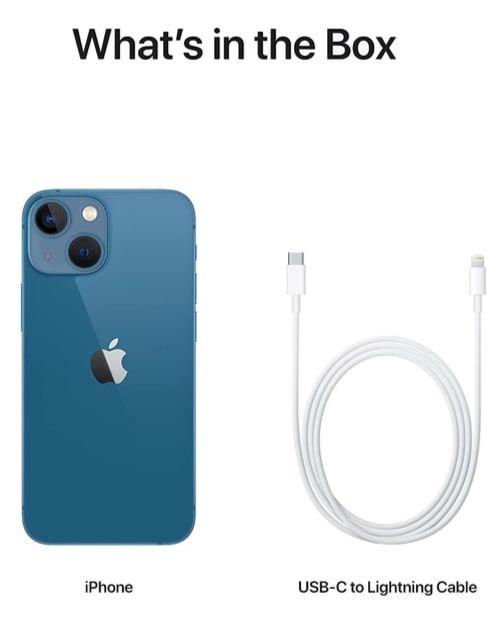 هاتف أبل آيفون 13 ميني، الجيل الخامس، 512 جيجابايت، أزرق