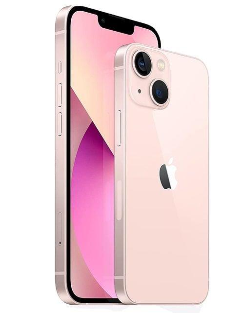 هاتف أبل آيفون 13، الجيل الخامس، 256 جيجابايت، وردي