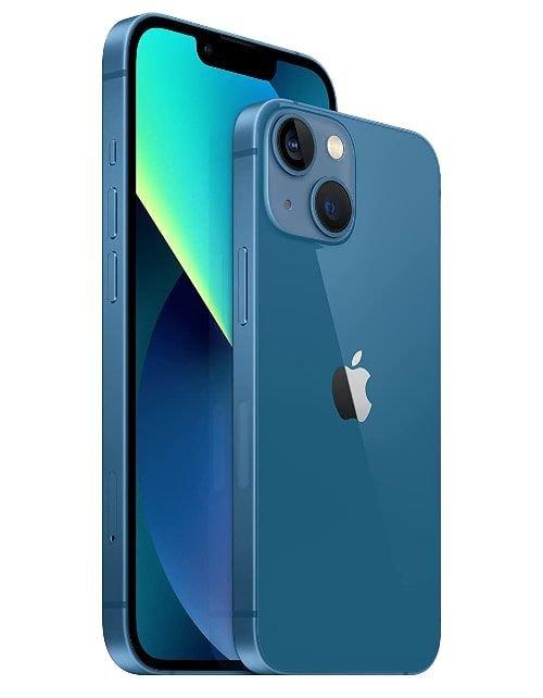 هاتف أبل آيفون 13، الجيل الخامس، 128 جيجابايت، أزرق