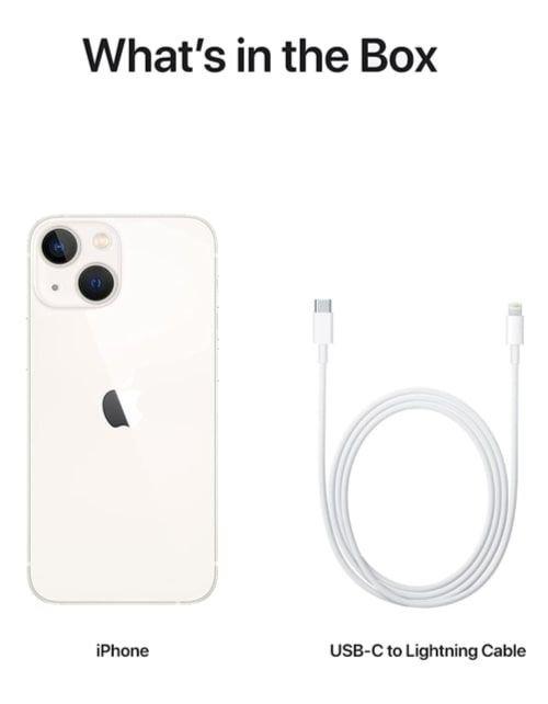 هاتف أبل آيفون 13، الجيل الخامس، 512 جيجابايت، ضوء النجوم