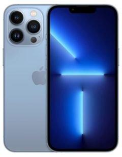 هاتف أبل آيفون 13 برو، الجيل الخامس، 128 جيجابايت، أزرق سييرا