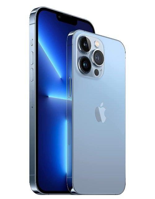 هاتف أبل آيفون 13 برو، الجيل الخامس، 512 جيجابايت، أزرق سييرا
