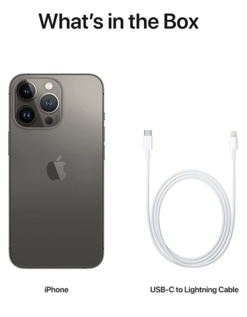 هاتف أبل آيفون 13 برو، الجيل الخامس، 256 جيجابايت، رصاصي داكن
