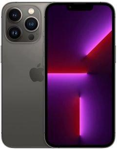 هاتف أبل آيفون 13 برو ماكس، الجيل الخامس، 128 جيجابايت، رصاصي داكن