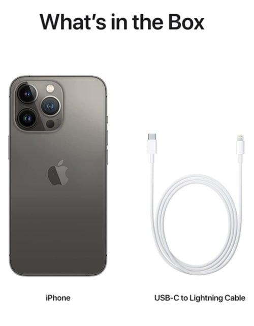 هاتف أبل آيفون 13 برو ماكس، الجيل الخامس، 1 تيرابايت، رصاصي داكن