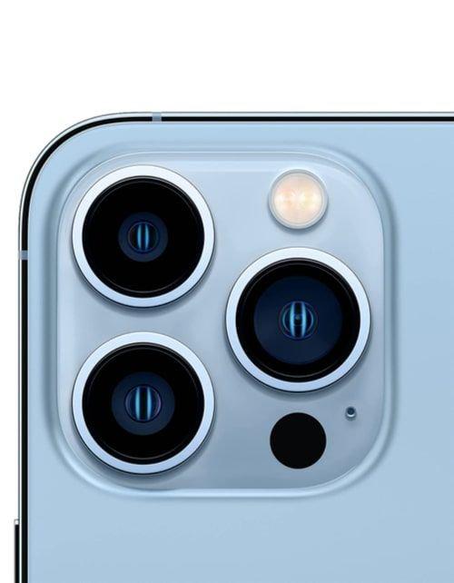 هاتف أبل آيفون 13 برو ماكس، الجيل الخامس، 128 جيجابايت، أزرق سييرا